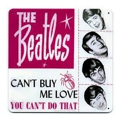 Beatles-Metal Sign 7""