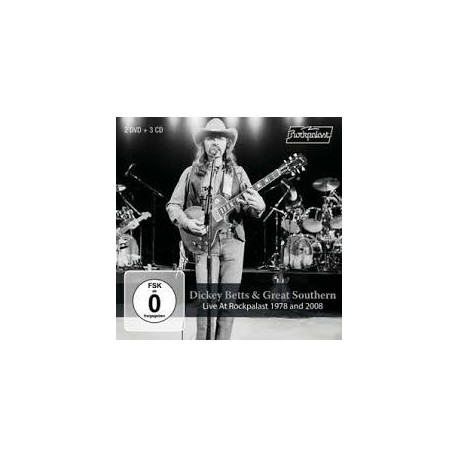 Dickey Betts-Live At Rockpalast 1978 And 2008