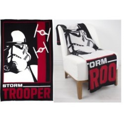 Star Wars-Stormtrooper Fleece Blanket (Plaid 100x 150)