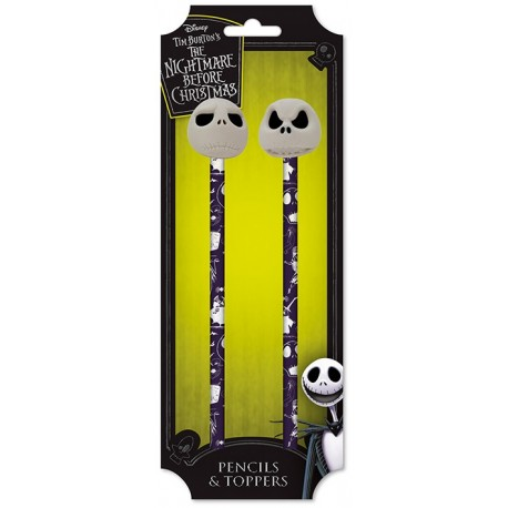 Nightmare Before Christmas-Pencils & Toppers