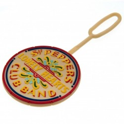 Beatles-Sgt. Pepper Lonely Heart Club Band Rubber Luggage Tag (Segna Nome per Bagagli)