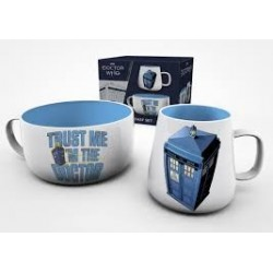 Dr Who-Doctor Who Breakfast Set