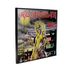 Iron Maiden-Killers Crystal Clear Picture 32 cm x 32 xm