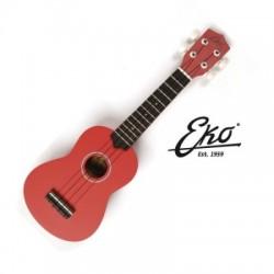 Ukulele-Eko Primo Ukulele Red