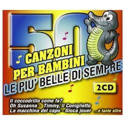 Italiani Artisti Vari-50 Canzoni Per Bambini (Le Piu BelleDi Sempre)