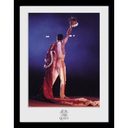 Queen-Crown Framed Poster (Poster Con Cornice 30 x 40)