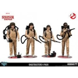 Stranger Things-Ghostbusters Dustin, Mike, Will & Lucas