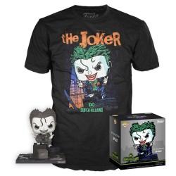 Dc Comics-Pop! & Tee Box The Joker