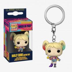 Birds Of Prey-Pocket Pop! Keychain Harley Quinn Caution Tape