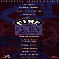 Blues Artisti Vari-Fire & Fury Story