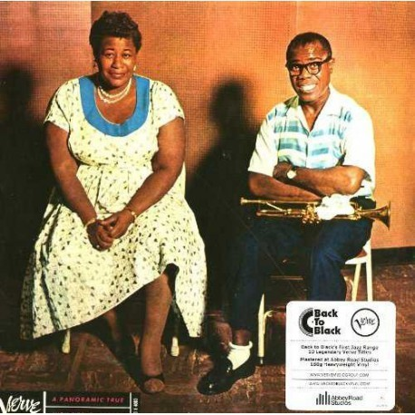 Ella Fitzgerald & Louis Armstrong-Ella & Louis